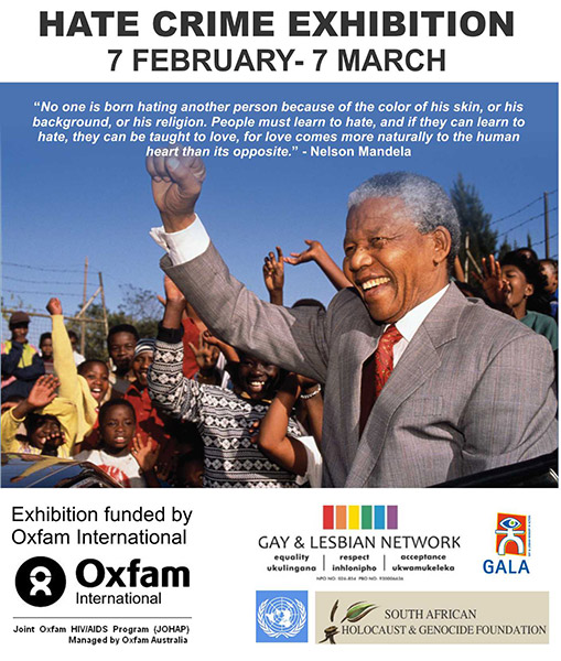 hate crime exhibition pmb out