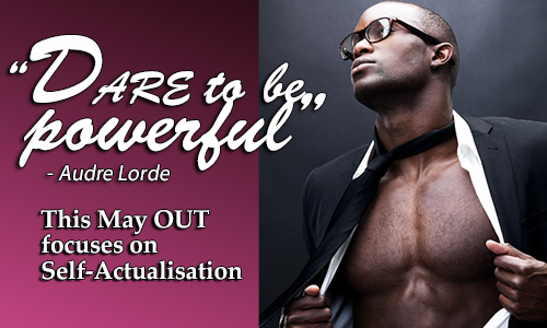 out may 2014 dare to be powerful theme