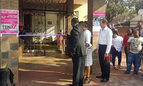 Gauteng Health MEC opens OUT TEN81 Centre