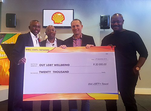 out shell lgbt donation
